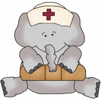 Elephant Nurse sculpture Photo Sculpture