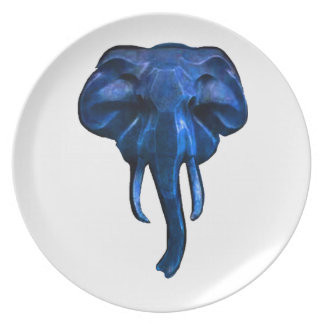 Elephant of courage plate