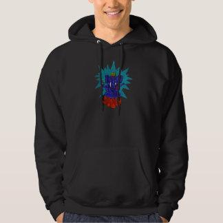 Elephant On Lotus Flower Sweatshirts