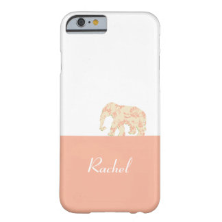 Elephant On the Road (Pink Dragon) Barely There iPhone 6 Case