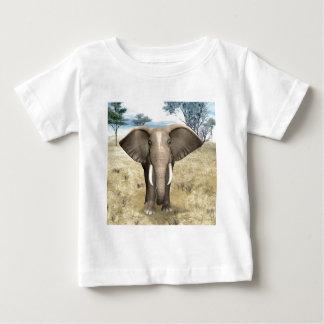 Elephant on the Savanna Baby T-Shirt