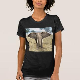 Elephant on the Savanna Tee Shirt