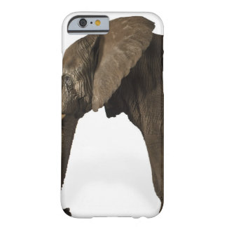 Elephant on white background, side view barely there iPhone 6 case