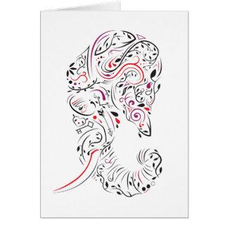 elephant ornate card