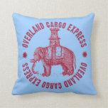 Elephant Overland Cargo Express Pillows