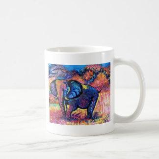 Elephant Painting Classic White Coffee Mug