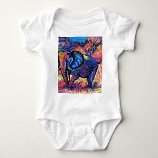 Elephant Painting Infant Creeper