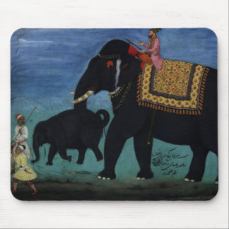 Elephant Painting Mouse Pad
