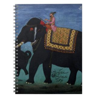 Elephant Painting Notebook
