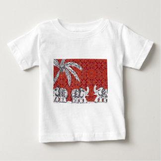 Elephant Parade 3 Baby T-Shirt