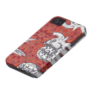 Elephant Parade 3 iPhone 4 Case-Mate Case