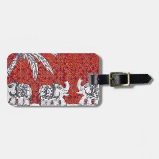 Elephant Parade 3 Travel Bag Tag