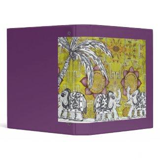 Elephant Parade 4 Vinyl Binder