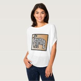 Elephant, Parrot My Best Friends Are WILD shirt