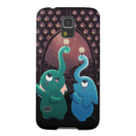 "Elephant party ""Festival of lights"" Galaxy S5 Covers"