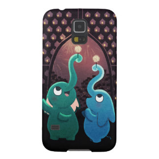 """Elephant party """"Festival of lights"""" Galaxy S5 Case"""