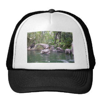 Elephant Party Time Trucker Hat