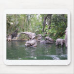 Elephant Party Time Mouse Pad