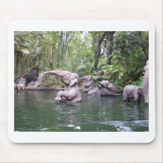 Elephant Party Time Mousepads