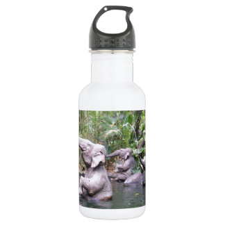 Elephant Party Time Stainless Steel Water Bottle