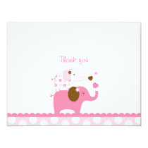 Elephant Patches Thank You Note Cards