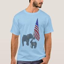 Elephant Patriots T-Shirt