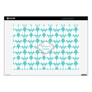 "Elephant Pattern 15"" Laptop Skins"
