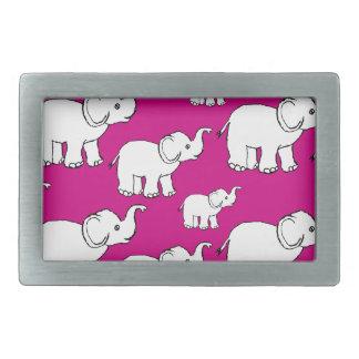 Elephant Pattern Belt Buckle