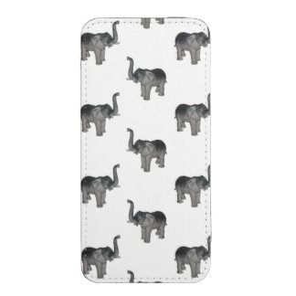 Elephant Pattern iPhone 5 Pouch