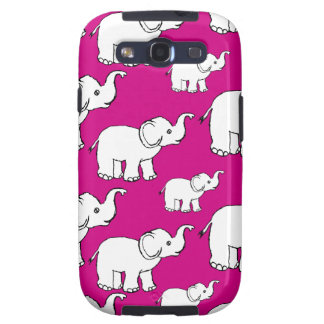 Elephant Pattern Galaxy S3 Cover
