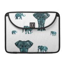 Elephant Pattern MacBook Pro Sleeve