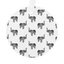 Elephant Pattern Ornament