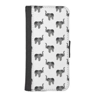 Elephant Pattern iPhone 5 Wallets