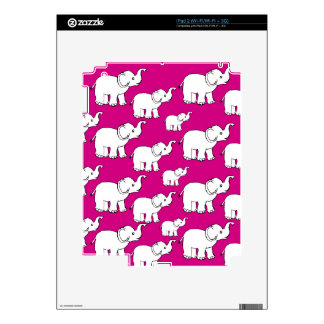 Elephant Pattern Skins For iPad 2