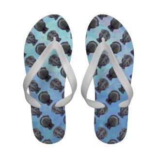 Elephant Patterns Sandals