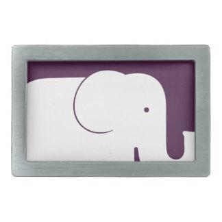 Elephant.pdf Belt Buckle
