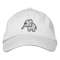 Elephant Personalized Adjustable Hat