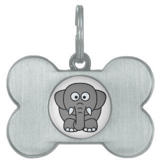 Elephant Pet Tag