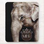 Elephant Photo Image Mousepad