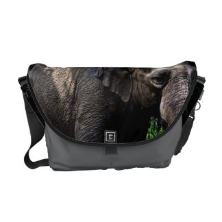 Elephant Photo Messenger Bag
