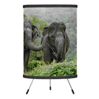 Elephant photo table lamp
