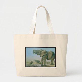 elephant Picture Tote Bags
