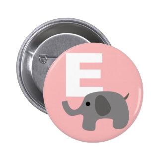 elephant pinback button