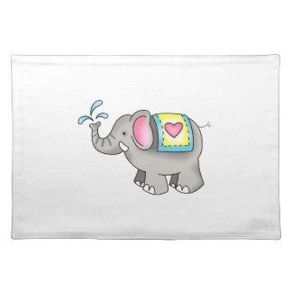 ELEPHANT CLOTH PLACEMAT
