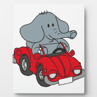 Elephant Plaque