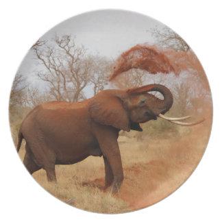 Elephant Party Plates