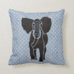 Elephant Polka Pillows