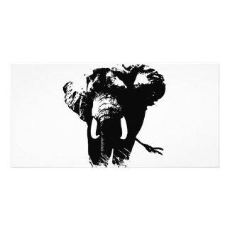 Elephant Pop Art Card