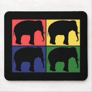 Elephant Pop Art Mousepads