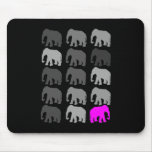 Elephant PopArt Gifts Mouse Pad
